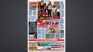 Presse Bild Zeitung zum High Heel Tarining Hagen