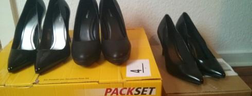 die Schuhe sind da!!!