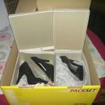 Schuhe auspacken macht Spaß
